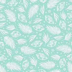 Diamond Flora - Mint