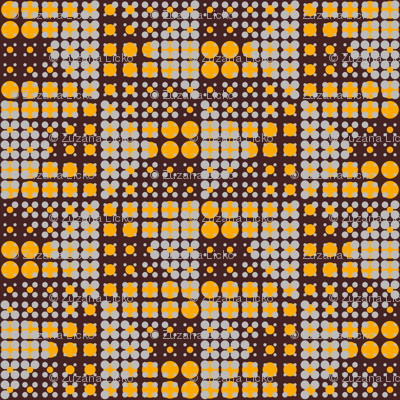 Dots on Dots - Brown