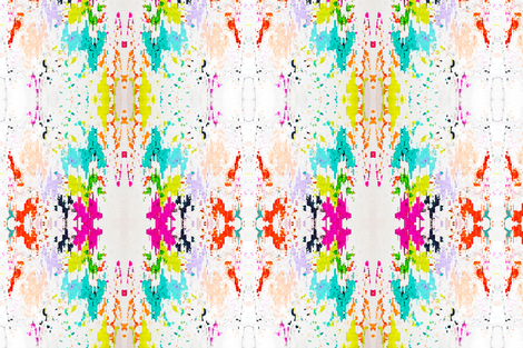 Splatter Print fabric by raecollister on Spoonflower - custom fabric