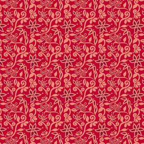 RED Rapunzel Bodice