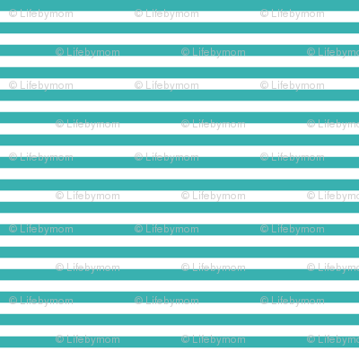 stripes tiffany blue