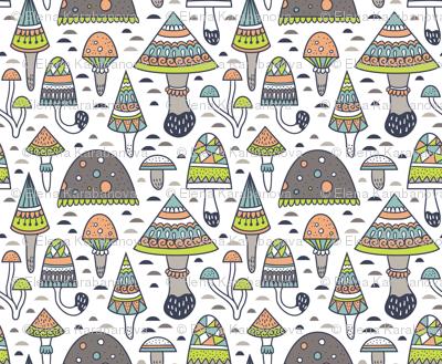 Geometric mushrooms