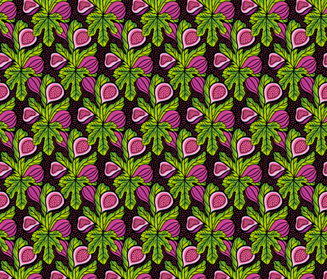 10_AK_tropicalgarden_007-01 fabric by alenkakarabanova on Spoonflower - custom fabric