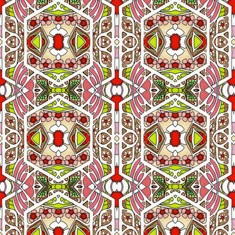 Christmas Eve 1918 fabric by edsel2084 on Spoonflower - custom fabric