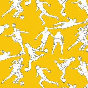 Soccer on Yellow