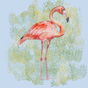 Flamingo for Pillow