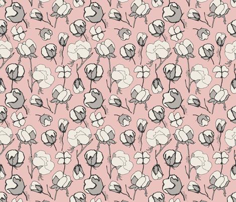 Cotton Blossom fabric by mariah_girl on Spoonflower - custom fabric
