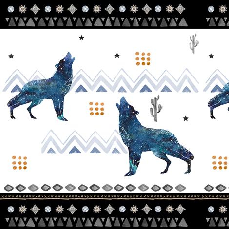 Wild One Aztec Boys Print fabric by shopcabin on Spoonflower - custom fabric