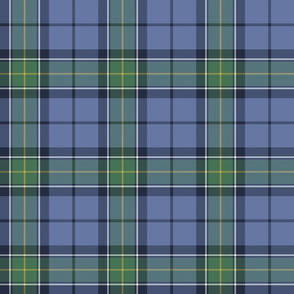 Rhode Island official tartan, faded