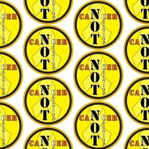 cancer not cooties Yellow