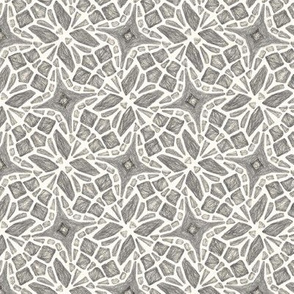 Abstract Butterfly Geometric Gray