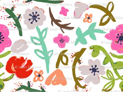 Modern Flowers 2