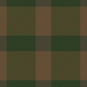 Green & Brown Plaid