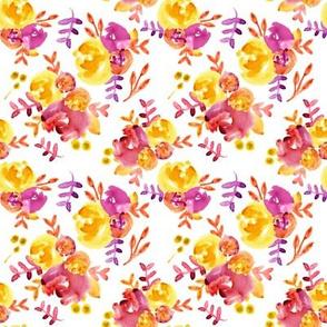 radiant autumn abstract floral