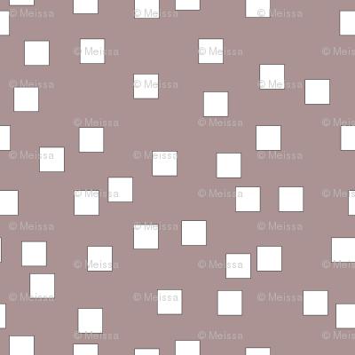 squares white