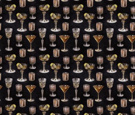 Alcohol fabric by marta_strausa on Spoonflower - custom fabric