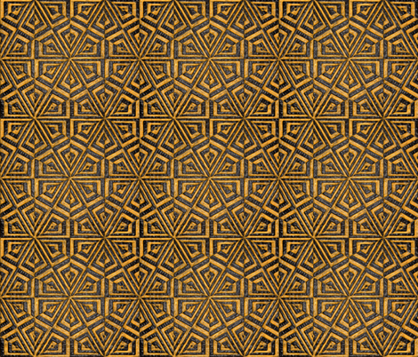 what do you call that chocolate with oranges fabric by scotty_es on Spoonflower - custom fabric