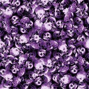 Skulls violet