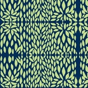 clover petal lime/navy
