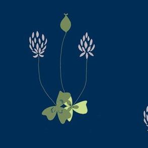 clover olive/lavender