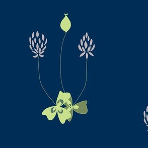 clover  lime/lavender