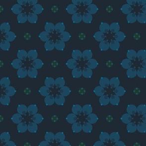 Blossom (Deep Indigo)