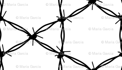 Barbed Wire Geometric