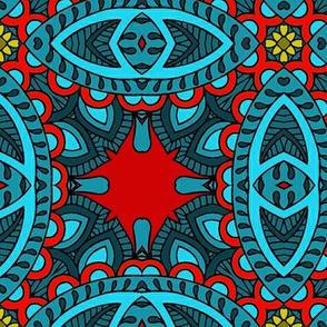 Wycinanka_Paisley_026_red-blue