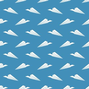 Paper Airplanes (ocean blue)