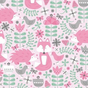 Fox Forest (pink)