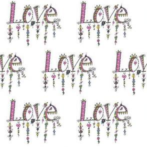 LOVE Danglies