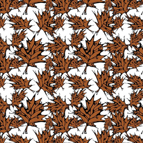 Brown Maple Leaves (small)
