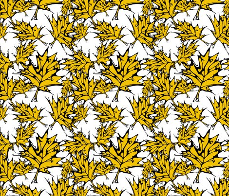 Maple_leaves__small___sf_yellow_f2c300_or_f2_shop_preview