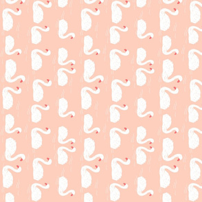 swans // swan swans birds bird elegant beautiful pink pastel girls sweet swans