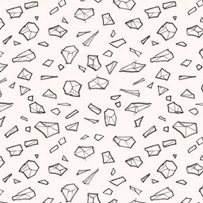 Spatial gems/Black & Pink