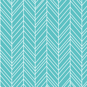 geo joe no.16 rev herringbone teal tribal aztec geometric modern pattern