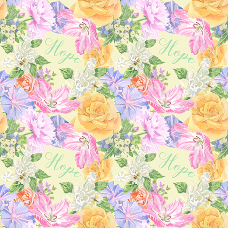 flowers-for-hope fabric by julistyle on Spoonflower - custom fabric
