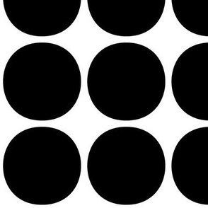 dots huge » black + white no.2