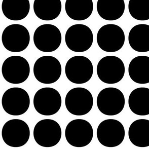 dots medium » black + white no.2
