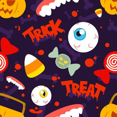 Halloween Trick Or Treat Cute Pumpkin Candy Eyeball Candy Corn