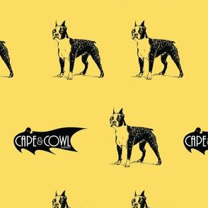 Cape & Cowl Comics - Boston Terrier