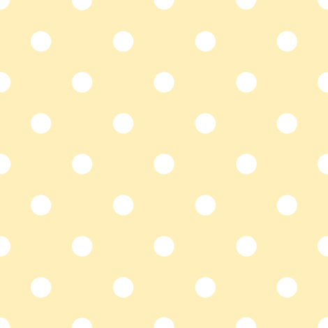 Chloe Dot buttercup fabric by lilyoake on Spoonflower - custom fabric