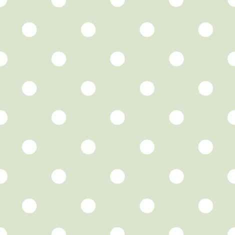 Chloe Dot basil fabric by lilyoake on Spoonflower - custom fabric