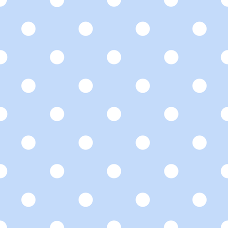 Chloe Dot blueberry fabric by lilyoake on Spoonflower - custom fabric