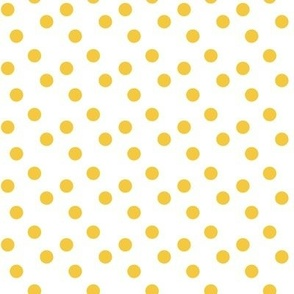 Polka dots in yellow