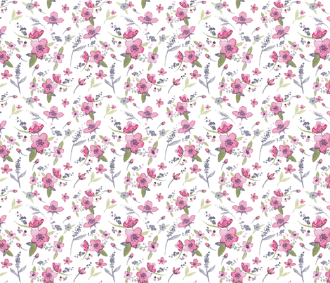 Countryfields fabric by louandmoss on Spoonflower - custom fabric