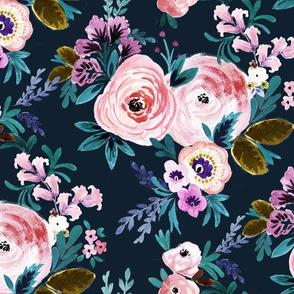 Victoria Floral Moody