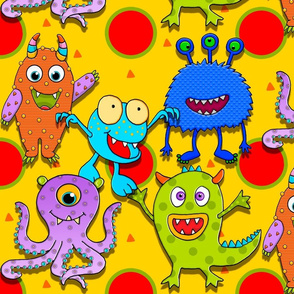 MONSTER_FUNNIES_Happy_Boys-yellow
