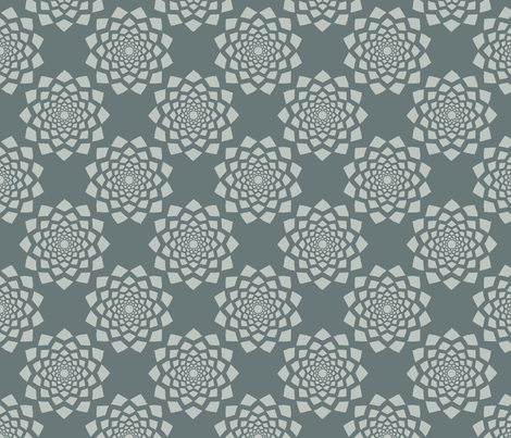Geo Lace fabric by thecharmingneedle on Spoonflower - custom fabric