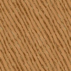 Branch Stripes // Brown